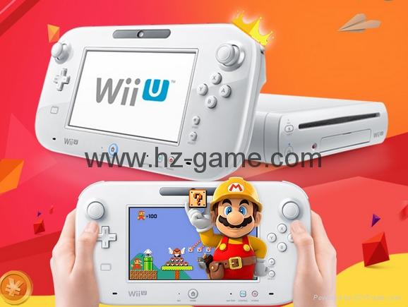 WiiU遊戲機 wii遊戲機主機 日版美版32G will u感應互動遊戲機 18