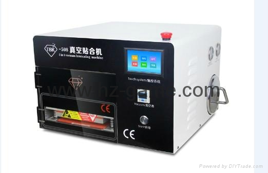 New 2in1 AK OCA Vacuum Laminating Machine Vacuum pump and Air Compressor 6