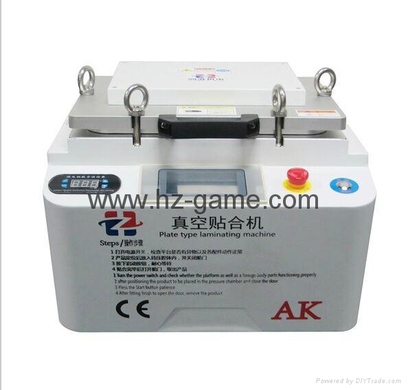 New 2in1 AK OCA Vacuum Laminating Machine Vacuum pump and Air Compressor 1