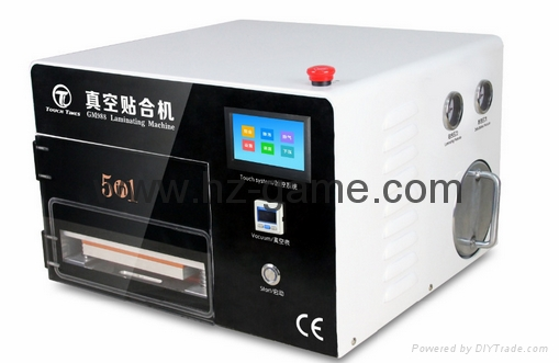 New 2in1 AK OCA Vacuum Laminating Machine Vacuum pump and Air Compressor 10