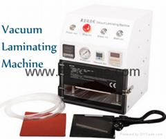 New 2in1 AK OCA Vacuum Laminating Machine Vacuum pump and Air Compressor