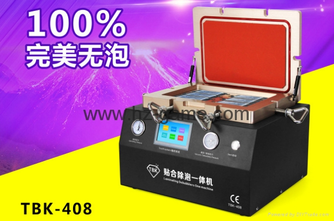 New 2in1 AK OCA Vacuum Laminating Machine Vacuum pump and Air Compressor 18