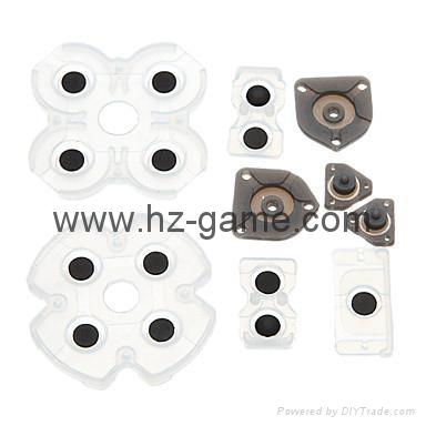 PS4 repair parts, Conductive Film Keypad flex Cable,3d analog,rubber,button,ic