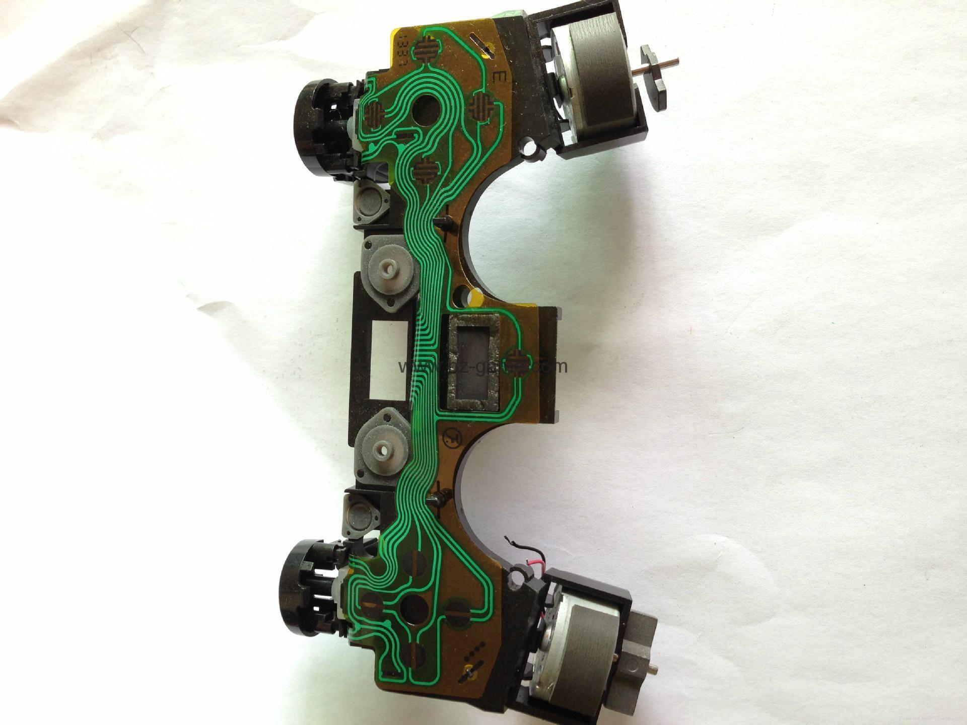 索尼PS4维修配件,手柄摇杆保护帽,3d摇杆,导电胶,按键 16
