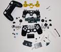 索尼PS4维修配件,手柄摇杆保护帽,3d摇杆,导电胶,按键 17