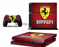 PS4 console Skin Sticker,ps4 Controllers Skins Cover,led light bar sticker 4