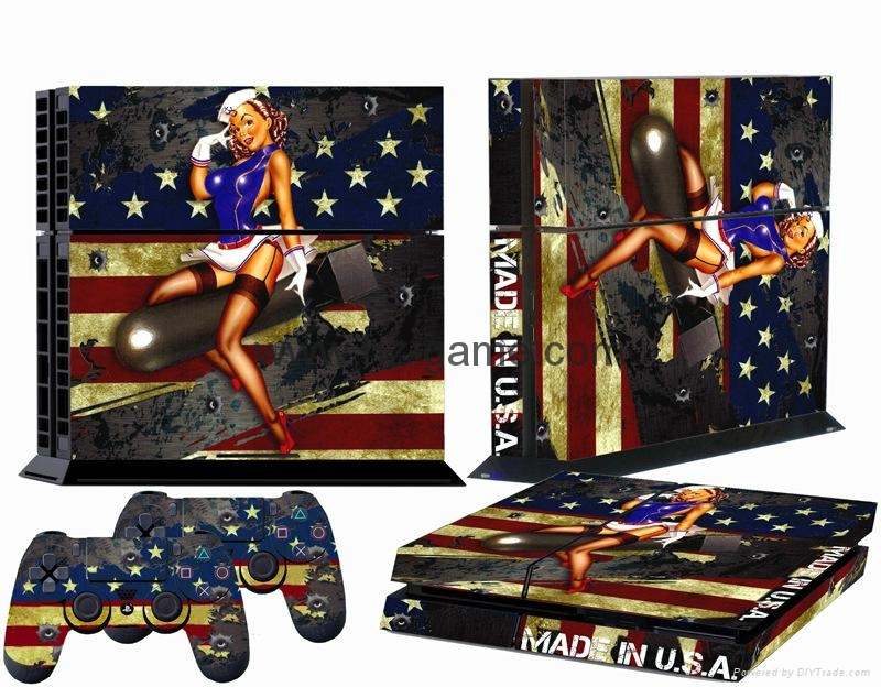 Ps4 console skin stickerps4 controllers skins coverled light bar ps4 console skin stickerps4 controllers skins coverled light bar sticker 20 aloadofball Images