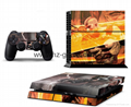 PS4 console Skin Sticker,ps4 Controllers Skins Cover,led light bar sticker 7