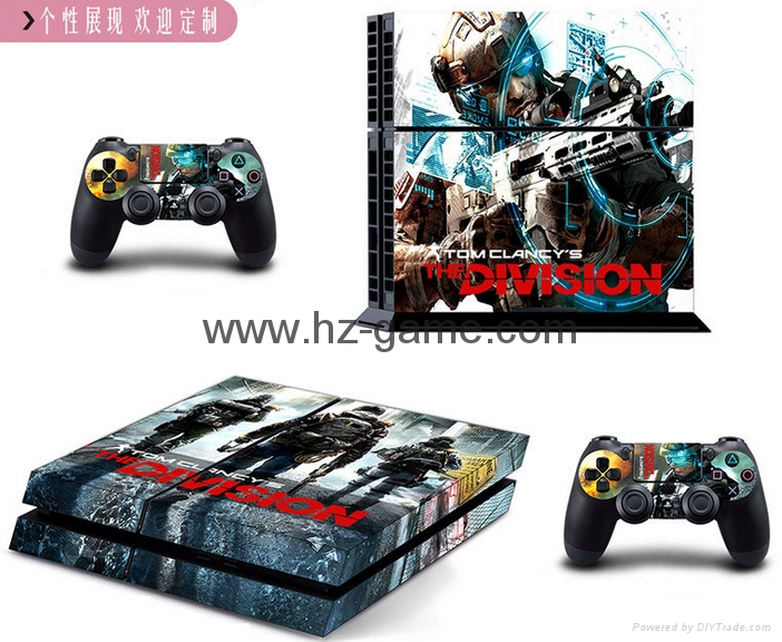 PS4 console Skin Sticker,ps4 Controllers Skins Cover,led light bar sticker 2