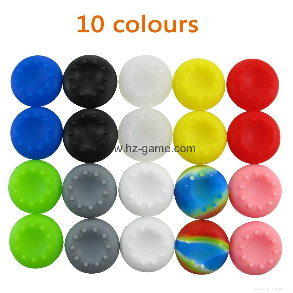 ps4 ps3 xbox360 Silicone Analog Grips Thumb stick handle caps Cover,silicone 6