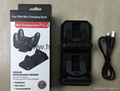LED Dual USB Charging Cradle Docking StationGaming Controller PS4 Pro Slim 14