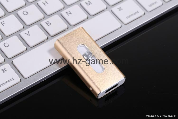 推拉式蘋果手機U盤32g iphone手機U盤16g otg蘋果U盤64g ipad-U盤 3