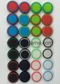 PS3/PS4/XBOX360/ONE遊戲手柄搖桿帽磨菇頭保護套按鍵硅膠帽 4