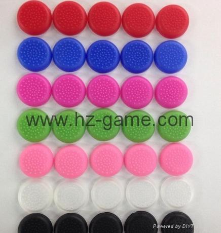 PS3/PS4/XBOX360/ONE遊戲手柄搖桿帽磨菇頭保護套按鍵硅膠帽 5