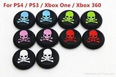 PS3/PS4/XBOX360/ONE遊戲手柄搖桿帽磨菇頭保護套按鍵硅膠帽