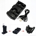 2in1 Dual charging dock charger for Sony