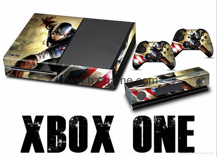 Protective Decal Stickers For Xbox ONE Console Cover Xbox ONE Controller Skin