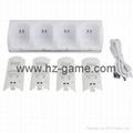 wii双电池座充 Wii电池 Wii手柄电池 Wii充电器 Wii手柄充电器 3