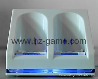 wii双电池座充 Wii电池 Wii手柄电池 Wii充电器 Wii手柄充电器 4