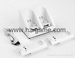 wii雙電池座充 Wii電池 Wii手柄電池 Wii充電器 Wii手柄充電器