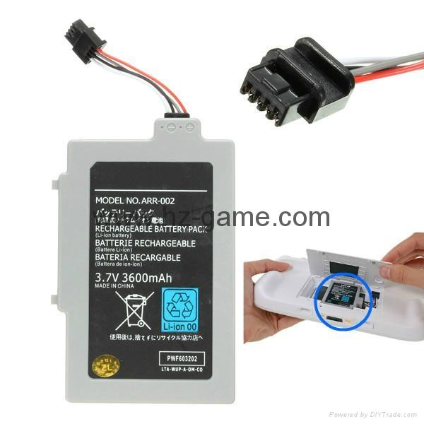 wii u硅膠套,wii u彩貼,WII新款無線感應器接收器(接收條)WII適配器 7