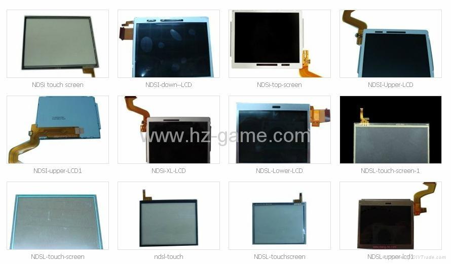 原装全新 3DSXL/3DSLL液晶屏LCD,PSPGO/PSP3000/PSVITA/DSIXL/NDSi液晶屏 7