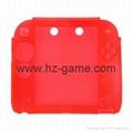 工廠NEW 3DS水晶殼new3ds主機保護殼套,屏幕保護膜,new 3ds配件 8