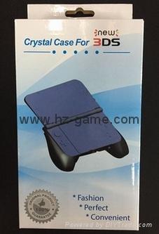 工廠NEW 3DS水晶殼new3ds主機保護殼套,屏幕保護膜,new 3ds配件 19