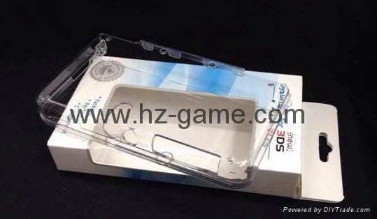 工廠NEW 3DS水晶殼new3ds主機保護殼套,屏幕保護膜,new 3ds配件 6