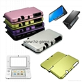 Nintendo New 3DSLL/XL P12 Skin Sticker + Shell Cover Split Crystal Case