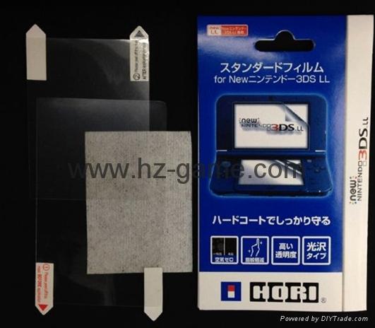工廠NEW 3DS水晶殼new3ds主機保護殼套,屏幕保護膜,new 3ds配件 7