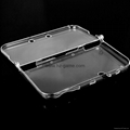 New 3DS XL / N3DS LL Split crystal Cover Case,new 3ds screen protector,3ds case