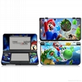 Nintendo New 3DS XL Screen Protector Tempered Glass HDClear Crystal PET Film 16