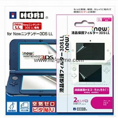 Nintendo New 3DS XL Screen Protector Tempered Glass HDClear Crystal PET Film