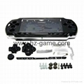For Sony PSP 2000 Full Housing Case Complete+Buttons Kit Cover Case Parts