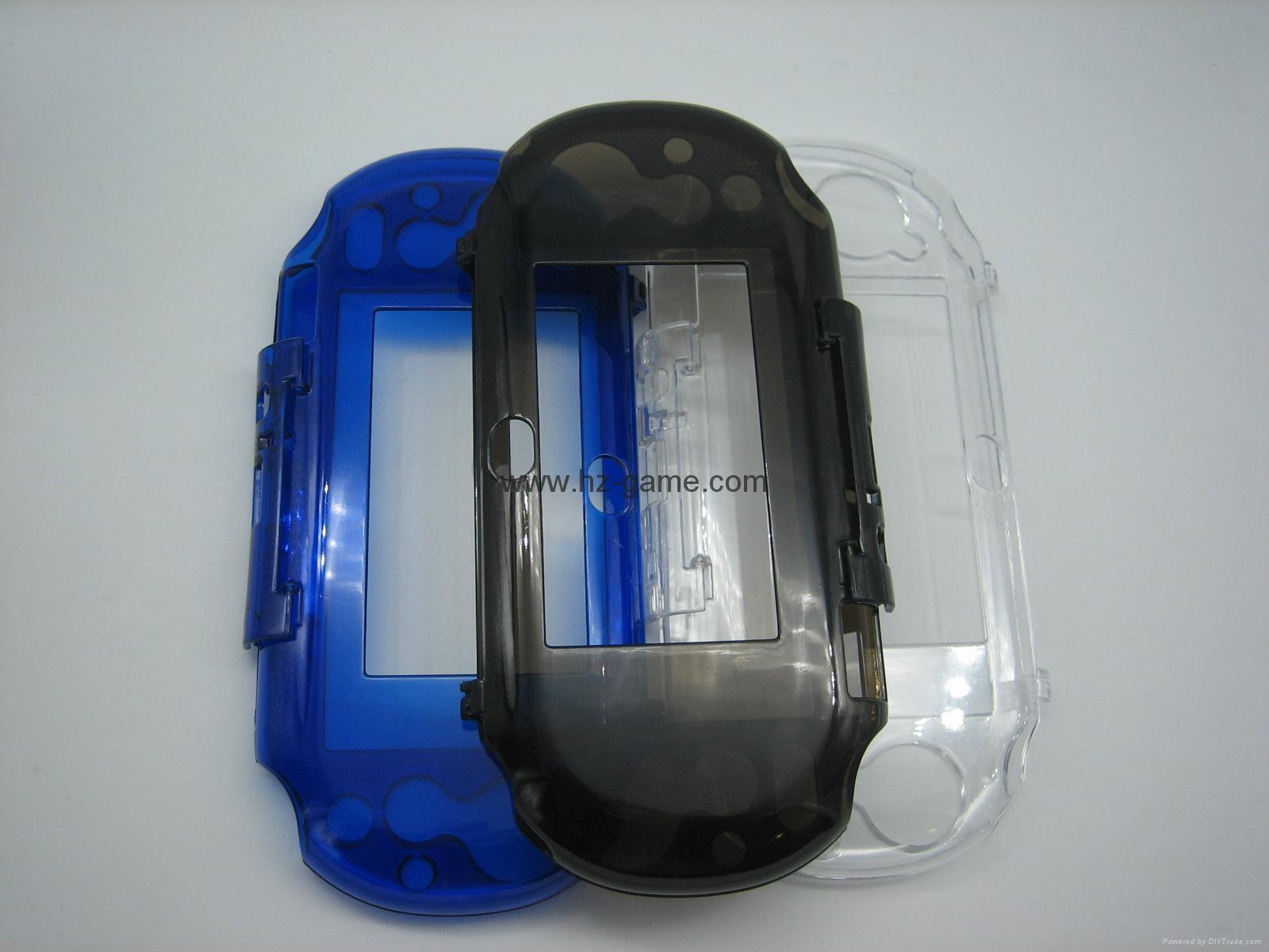 PSV配件手柄手把,格斗手柄 PSVita 弧形手柄,psp全套机壳,psvita保护壳 5