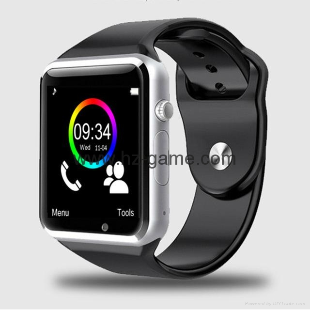 A1 WristWatch Bluetooth Smart Watch Sport Pedometer With SIM Camera Smartwatch 1