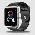 A1 WristWatch Bluetooth Smart Watch Sport Pedometer With SIM Camera Smartwatch