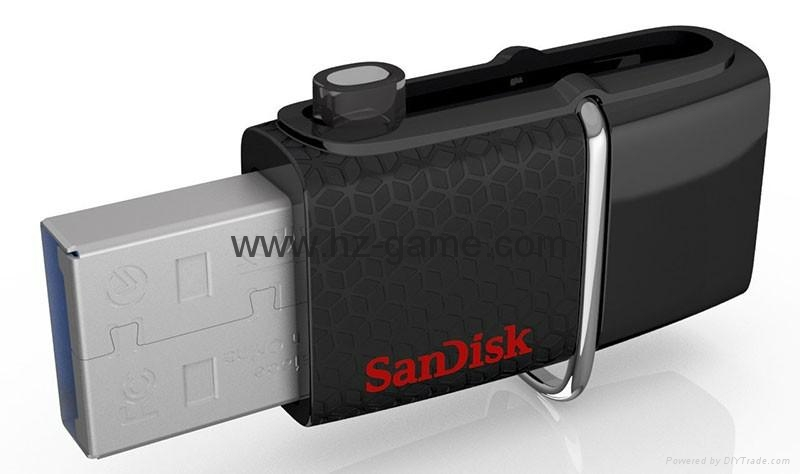 厂家直销闪迪  高速OTG USB3.0手机U盘 安卓手机电脑迷你优盘 2