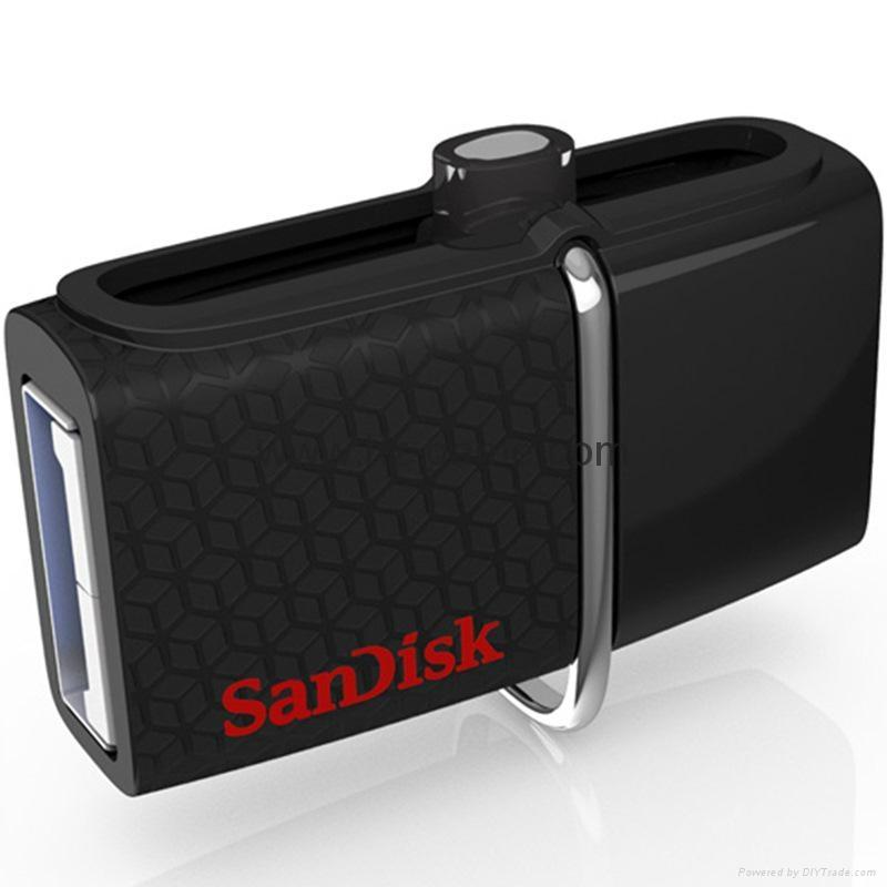 廠家直銷閃迪至尊高速OTG USB3.0手機U盤 安卓手機電腦迷你優盤 1