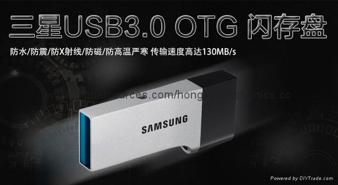 廠家直銷閃迪  高速OTG USB3.0手機U盤 安卓手機電腦迷你優盤 6