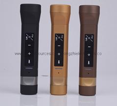 熱銷 新款藍牙音響FM多功能戶外禮品手電筒移動電源