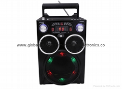 Hot wholesale high quality manual radio receiver Mountain bike bicycle speakers