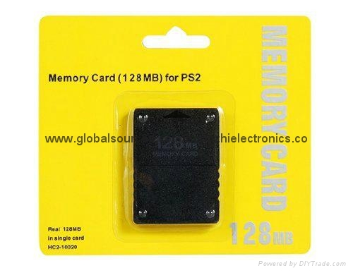 SONY ps2 Memory Card 8Mb  16MB,64MB,128MB,256MB for Playstation 2 PS2 Black 3