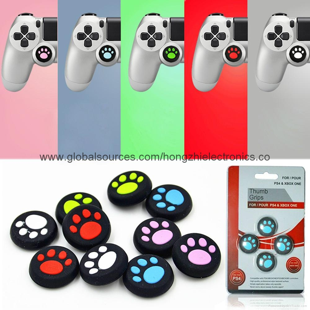 For Playstation4 Controller Silicone Joystick Game Controller Analog Thumbsticks 20