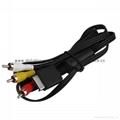 PS2手柄USB轉接口 PS2遊戲手柄轉換器 PS2有線手柄轉PC轉換器電腦 8