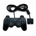 sony Wired Controller Dual Vibrations Joystick Gamepad Joypad