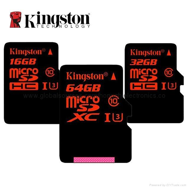 批发金士顿手机内存卡 TF卡 4G 8G 16G 32G 64G Micro SD卡 正品 8
