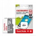 Sandisk/闪迪 16G 高速TF卡 CLASS10存储microSD卡 手机内存卡SD内存卡,TF内存卡 10