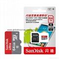 Sandisk/闪迪 16G 高速TF卡 CLASS10存储microSD卡 手机内存卡SD内存卡,TF内存卡 12